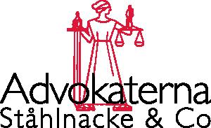 Advokaterna Ståhlnacke & Co logga